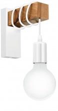 EGLO 33162 Applique 1 lampadinaE27 colore Bianco