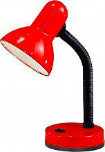 EGLO 9230 Lampada da Tavolo attacco E27 Colore Rosso - BASIC