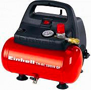 EINHELL Compressore Aria Portatile 6 Litri Pressione 8 bar 230V - TH-AC 1906 OF