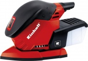 EINHELL TE-OS 1320 Levigatrice mouse a Delta palmare 130 Watt con aspirazione