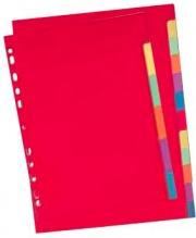 ELBA 100204882 Confezione 20 Intercalare Neutre Tacche A4