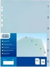 ELBA 400006686 Intercalari Num 1-12 Mese For.Univ. 22x30