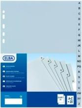 ELBA 400006691 Intercalari Alfabetico 20 A-Z Tabulati 22x30