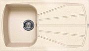 ELLECI LGL40051NNA Lavello Cucina Incasso 1 Vasca Gocciolatoio 86 cm Avena