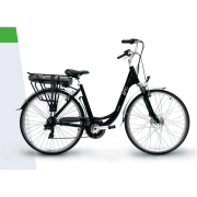 "EMG CY2601 Bicicletta elettrica pedalata assistita E-Bike 250 W 26"" Bianco Jammy CY26"