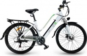 """EMG CY26ABi01 Bicicletta elettrica pedalata assistita E-Bike 250W 26"""" Bianco Queen CY26ABi"""
