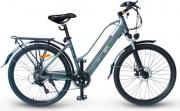 """EMG CY28ABi10 Bicicletta elettrica pedalata assistita E-Bike 250W 26"""" Grigio Queen CY28ABi"""