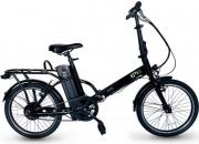 """EMG F2000 Bicicletta elettrica Pieghevole pedalata assistita 250 W 20"""" Nero Speedy F20"""