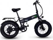"EMG F20F00 Bicicletta elettrica Pieghevole pedalata assistita 250 W 20"" Bomber"