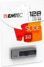EMTEC ECMMD128GB253 Pen Drive 128 Gb Penna USB 3.0 20 Mbs Grigio  B250 Slide 3.1