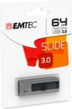 EMTEC ECMMD64GB253 Pen Drive 64 Gb Penna USB-A 20 Mbs Grigio  B250 Slide 3.1