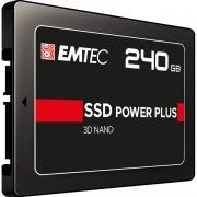 "EMTEC ECSSD240GX150S SSD Hard Disk Interno 2.5"" 240 GB SATA III  X150 Power Plus"
