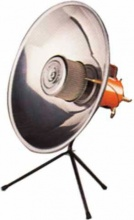 EUROCAMPING 56001202CE Stufa a Gas GPL Portatile Catalitica Parabola 1,8 kW