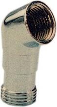 EURODOCCIA BLGHU1141 Curva Cromata gr 1  2x1  2 per Doccetta Placchette 6