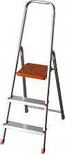 EURODOMUS Scala Alluminio 3 gradini h 122cm - Normal E3N