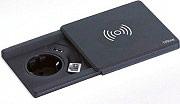 EVOLINE 159270000600 Prese a Scomparsa Incasso tavolo 1 Schuko + USB + Wireless 159270000300