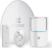 EZVIZ 304800046 Antifurto Casa Wireless Perimetrale Magnetico con Sirena Kit BS-113A