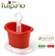 Ecoplast 03162 Scolaposate da Appoggio Tulipano Madreperla Rosso