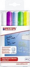 Edding E905S049 Evidenziatore 5 pz Azzurro Verde chiaro Viola Bianco Giallo