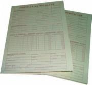 Edipro E6001BIS Confezione 100 Cartella Matricolare F.To24x17