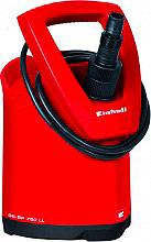 EINHELL GE-SP 750 LL Pompa Elettropompa Sommersa 900 W 6.000 lth Solidi fino 2.5 mm GESP750L