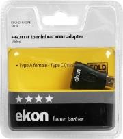Ekon 0463350 Adattatore HDMI femmina a mini HDMI maschio