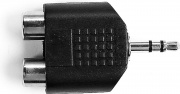 Ekon SPJK1M2R Sdoppiatore audio jack 3,5 mm stereo maschio a 2 RCA femmina