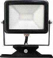 Electraline 63501 Faretto LED Faro 10 Watt 800 Lumen colore Nero  SuperLed Slim