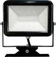 Electraline Faretto LED Faro 20 Watt 1600 Lumen colore Nero 63503 SuperLed Slim