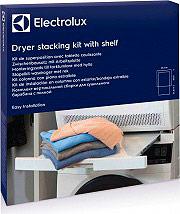 Electrolux E4YHMKP2 Kit asciugatrice lavatrice colonna Ripiano estraibile fino a 34 cm