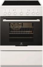 Electrolux EKC61360OW Cucina Elettrica 4 Fuochi Forno Elettrico 60x60