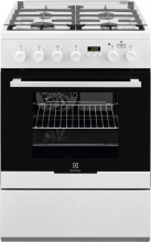 Electrolux EKK64984OW Cucina a Gas 4 Fuochi Forno Elettrico Ventilato 60x60 cm