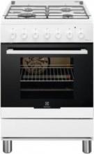Electrolux RKK61380O Cucina a Gas 4 Fuochi con Forno 60x60 cm colore Bianco RKK61380 OW