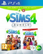 Electronic Arts 1073029 The Sims 4 + Cani e Gatti Videogioco per PS4 PlayStation 4 PEGI 12