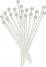 Elematic 5231E Fascette plastica cablaggio 540x7.5 mm Cf 100 Pz Bianco