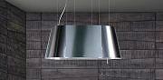Elica 654145902 Cappa Cucina Filtrante Isola 90 cm x 50 cm Acciaio TWIN IXF 90