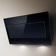 Elica PRF0079553 Cappa Cucina Filtrante Parete 90 cm x 33 cm Nera VERTIGO BLF