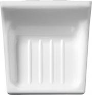 Eliplast 4021 Portasapone Muro Bianco Plus cm 9x6