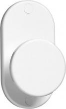 Eliplast 4311 Appendiabiti 1 Posto Fissaggio a Muro Tondo colore Bianco