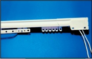 Emmebi E21400 Scorritenda acciaio Chiusura centrale Lunghezza 213400 cm