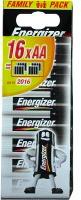 Energizer 627504 Numero 16 batterie Family 1 6Pz AA con voltaggio da 1,50 V