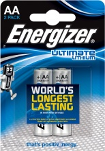 Energizer 635180 Batteria L91 Ultimate Lithium di tipo L91 AA