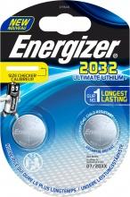 Energizer CR2032 Numero 2 pezzo i batterie 2pz
