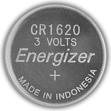 Energizer E300844001 Batteria CR1620 3 V CR1620