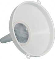 Enolandia 4150 Imbuto per Alimenti con Filtro in Polipropilene ø 25 cm Bianco