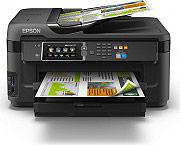 Epson Stampante multifunzione Wi-Fi Scanner Fax colori WorkForce WF-7610DWF
