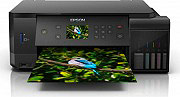 Epson C11CG15401 Stampante Multifunzione Inkjet a Colori Scanner Wifi EcoTank ET-7700