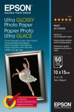 "Epson C13S041943 Carta 10x15cm (4x6"") Fotografica Ultra Glossy Photo Paper 200"