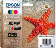 Epson C13T03A94020 Multipack 603 Black XL Nero Ciano Giallo Magenta Kit
