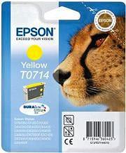 Epson Cartuccia Inkjet Originale Giallo Blister C13T07144021